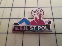 313h Pin's Pins / Beau Et Rare : Thème SPORTS / HALTEROPHILIE CLUB DE SPORTIFS COUCHES ESH ST POL - Weightlifting