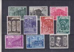 Vatican - Yvert 140 / 49 ** - MNH - Papes - Valeur 67,50 Euros - Neufs