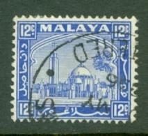 Malaya - Selangor: 1935/41   Mosque   SG77    12c     Used - Selangor
