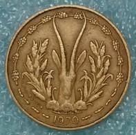 Western Africa (BCEAO) 5 Francs, 1970 -1636 - Autres – Afrique