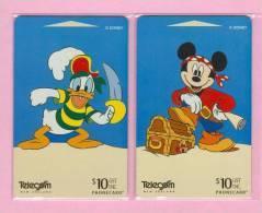 New Zealand - 1998 Disney - Mickey & Donald III - Set (2) - NZ-D-107/8 - Mint - New Zealand