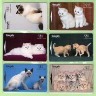 New Zealand - 1996 Kittens - Set (6) - NZ-D-67/72 - Mint - New Zealand