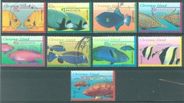 CHRISTMAS - USED/OBLIT.- 1995-1997 - FISH - Yv 421-422 425-428 437-439 - Lot 17371 - Christmas Island