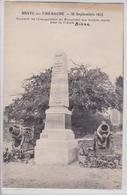 Braye-en-Thiérache (Aisne) - Monument Aux Morts De La Grande Guerre - Souvenir De L'Inauguration Le 18 Septembre 1921 - Frankreich