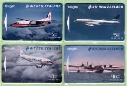 New Zealand - 1994 Air New Zealand Set (4) - NZ-A-42/5 - Mint - New Zealand