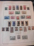 Sammlung Danzig 1920-1923 Ca 390 Marken Gestempelt Und Ungebraucht (1008) - Deutschland