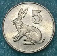 Zimbabwe 5 Cents, 1996 - Zimbabwe