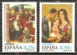 España/Spain-(MNH/**) - Edifil 3955-56  - Yvert  3525-26 - 1931-Hoy: 2ª República - ... Juan Carlos I