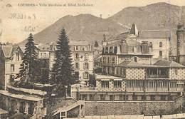 PIE18-T-3710 : LOURDES. HOTEL SAINT HUBERT. VILLA SAINTE-ROSE. L. MEDEVIELLE. - Lourdes