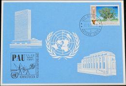 UNO GENF 1991 Mi-Nr. 215 Blaue Karte - Blue Card - Genf - Büro Der Vereinten Nationen