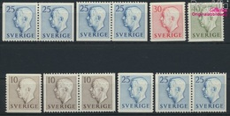 Suède 390A,dl,Dr,391A,dl,Dr, Elo,Ero,Elu,Eru,392A,393A (complète. Edition.) Neuf Avec Gomme Originale 1954 G (9137442 - Sweden
