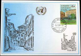 UNO GENF 1999 Mi-Nr. 303 Blaue Karte - Blue Card - Genf - Büro Der Vereinten Nationen
