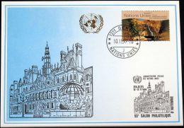 UNO GENF 1999 Mi-Nr. 305 Blaue Karte - Blue Card - Genf - Büro Der Vereinten Nationen