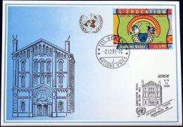 UNO GENF 1999 Mi-Nr. 306 Blaue Karte - Blue Card - Genf - Büro Der Vereinten Nationen
