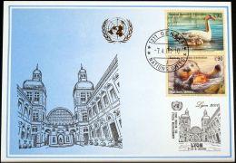 UNO GENF 2000 Mi-Nr. 308 Blaue Karte - Blue Card - Briefe U. Dokumente