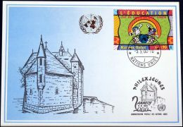 UNO GENF 2000 Mi-Nr. 310 Blaue Karte - Blue Card - Briefe U. Dokumente