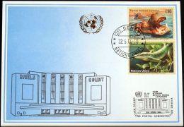 UNO GENF 2000 Mi-Nr. 311 Blaue Karte - Blue Card - Briefe U. Dokumente