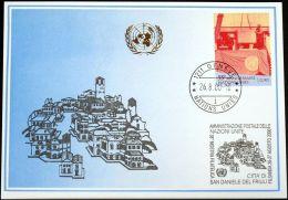 UNO GENF 2000 Mi-Nr. 312 Blaue Karte - Blue Card - Briefe U. Dokumente