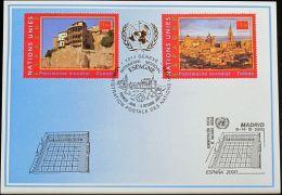 UNO GENF 2000 Mi-Nr. 314 Blaue Karte - Blue Card - Briefe U. Dokumente