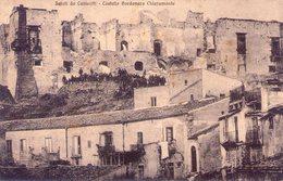 Sicilia   Agrigento  Canigatti  Castello Bordonaro Chiaramonte  Viaggiata - Agrigento