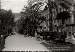 ! Ansichtskarte Ospedaletti, Ligure, Corso Regina Margherita, Italy - Imperia