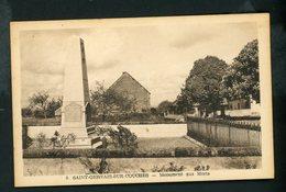 CPA - 71 - SAINT-GERVAIS-SUR-COUCHES - MONUMENT AUX MORTS - Sonstige Gemeinden