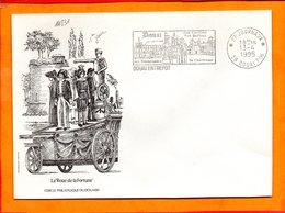 NORD, Douai, Flamme SCOTEM N° 14831, Carillon, Beffroi, Chartreuse, (Port Payé Journaux), 1er Jour - Storia Postale