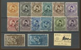 1934 Egypte. Série Complète   153-168. Cote 200,- Euros - Egypt