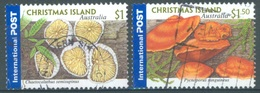 CHRISTMAS - USED/OBLIT..- 2001 - MUSHROOMS - Yv 485-486 - Lot 17374 - Christmas Island