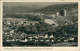 AK Stuttgart Cannstatt, Blick Vom Burgholzhof Ins Neckartal, O 1942, Eckknick Unten Rechts (30593) - Stuttgart