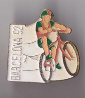 PIN'S THEME CYCLISME  BARCELONA 92 - Cycling