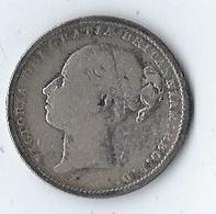 Monnaie Grande Bretagne Victoria One Shilling Argent 1883 - I. 1 Shilling