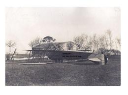 Originale Photo C1918 Avion De Guerre ? Militaire ? Retourné (à L'envers) Accident ?  , AD TYPE XI 6254 - Aviation - Aviation