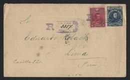 BOLIVIA POSTAL STATIONERY ENVELOPE BALLIVIAN PERU 1902 - Bolivia