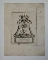 Ex-libris Armorié Français XVIIIème - Louis MASSON - Ex Libris