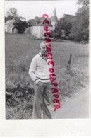 24- CHOURGNAC D' ANS- PORTRAIT PHILIPPE BOURY- ROU D' AURICANIE PATAGONIE-ANTOINE DE TOUNENS  - RARE PHOTO ORIGINALE - Personalidades Famosas