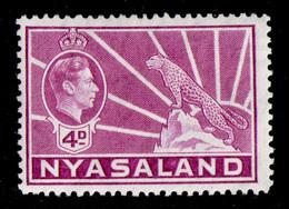 NYASALAND 1938 - From Set MH* - Nyasaland (1907-1953)