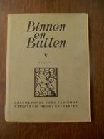 """Boekje BINNEN EN BUITEN  Leesmethode Fons VAN HOOF     UITGAVE  """" DE SIKKEL """" - Books, Magazines, Comics"""