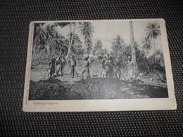 Tanzania  Est Africain Allemand ( Occupation Belge )  Cachet B.P.C.V.P.K.  Service Militaire Kettengefangene - Tanzanie