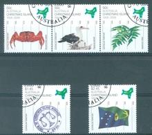 CHRISTMAS - USED/OBLIT. - 2008  - Yv 633-637 - Lot 17380 - Christmas Island