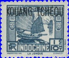 Kouang-Tchéou 1937. ~ YT 97** - Jonque - Unused Stamps