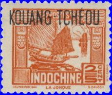 Kouang-Tchéou 1937. ~ YT 99** - Jonque - Unused Stamps