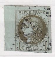 FRANCE YT N°  39C - 1870 Bordeaux Printing