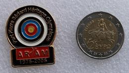 Pin's Tir à L'Arc . Archery  . ARAM . 1976/2006 . Superbe - Archery