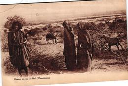 MAURITANIE - MAURES AU LAC DE MAL - Mauritania