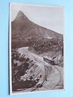 MOUNTAIN TRAMWAY, CAMPS BAY, C.P. ( Valentine - JV ) Anno 1929 ( Zie Foto Details ) ! - Afrique Du Sud