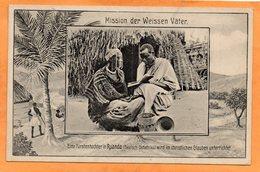 Ruanda 1910 Postcard - Ruanda-Urundi
