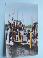 L'AFRIQUE En Couleurs - PIROGUIERS ( 1786 - Hoa-Qui ) Anno 19?? ( Zie Foto Details ) ! - Cartes Postales