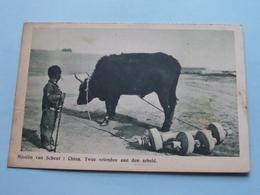CHINA : Twee Vrienden Aan Den Arbeid ( Missiën Van SCHEUT ) Anno 19?? ( Zie Foto Details ) ! - Missions