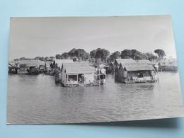 Aspects Du Cambodge - LE VILLAGE FLTTANT DE SNOCTROU ( Hamre ) Anno 1953 ( Zie Foto Details ) ! - Cambodia
